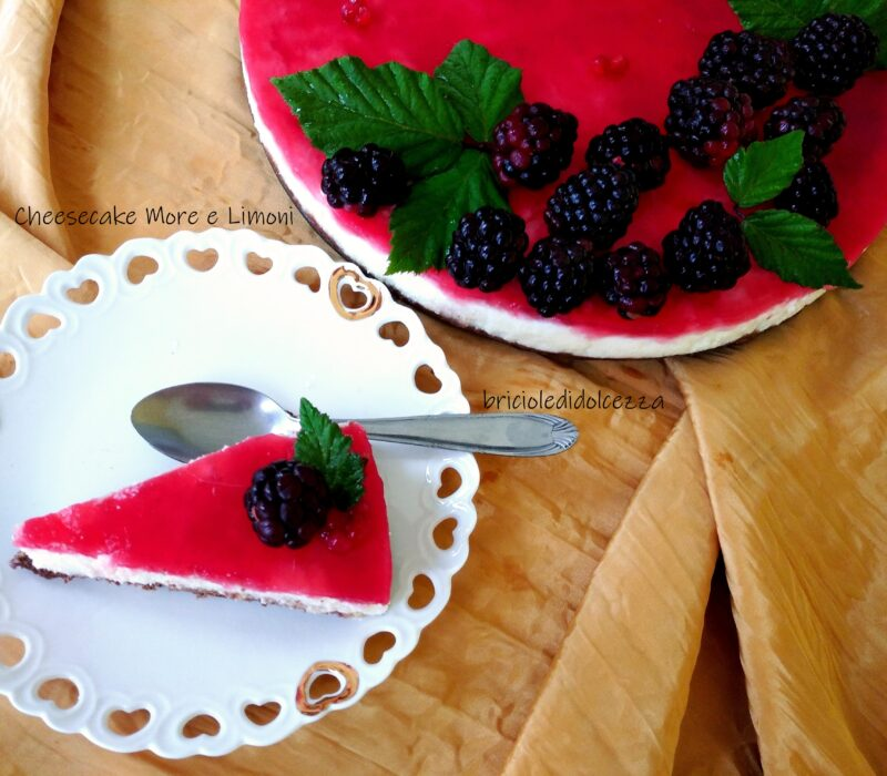 Cheesecake More e Limoni