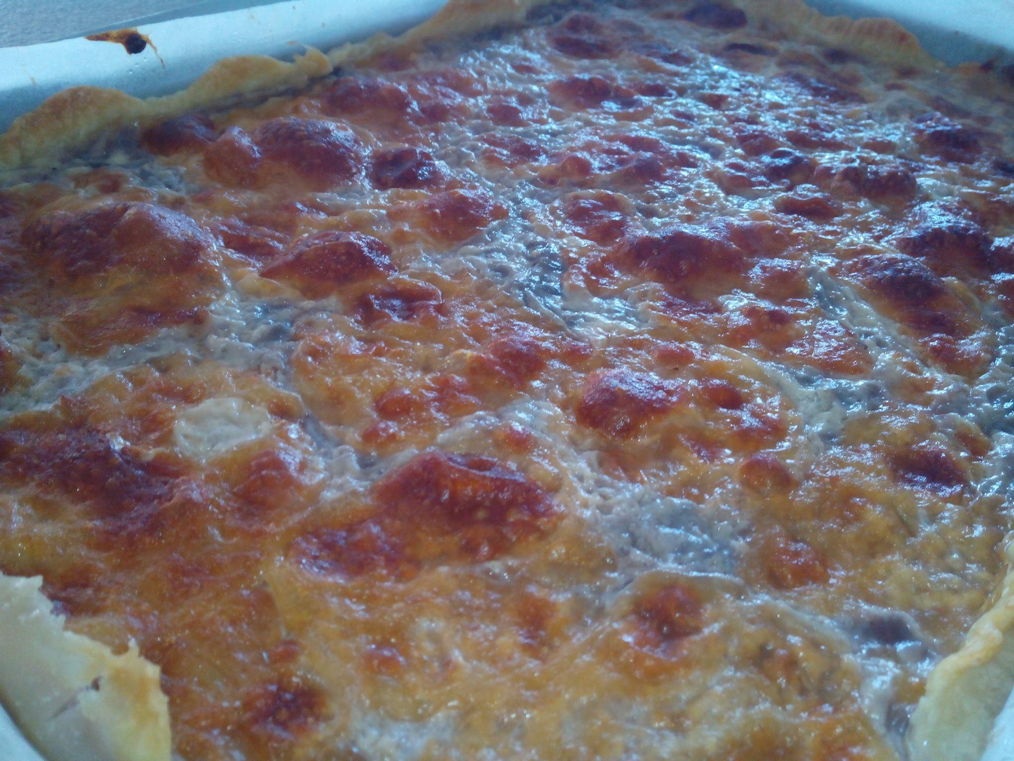 PIZZA RUSTICA CACIO E CIPOLLE ...100% CALABRESE!