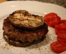 Hamburger aromatizzati ai pomodori secchi