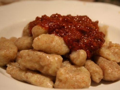 Gnocchi di patate integrali
