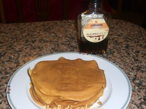 Pancake con lievito naturale