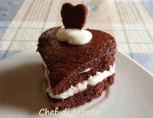 Torta al cioccolato San Valentino