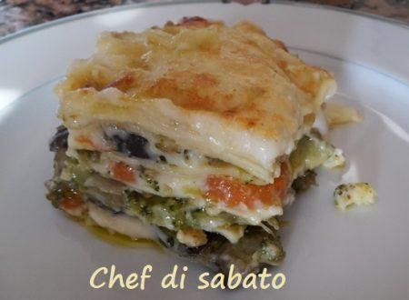 Lasagne di verdure con besciamella