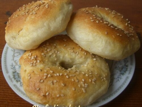 Bagels con lievito naturale