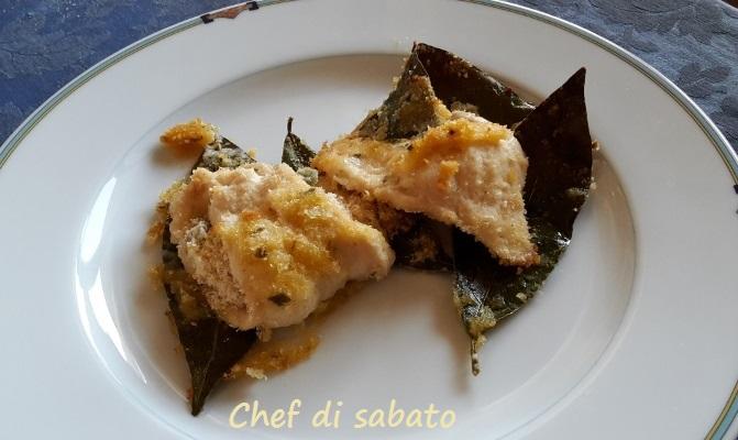 Pollo al forno alla barquedese width=