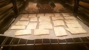 cracker semplici senza lievito