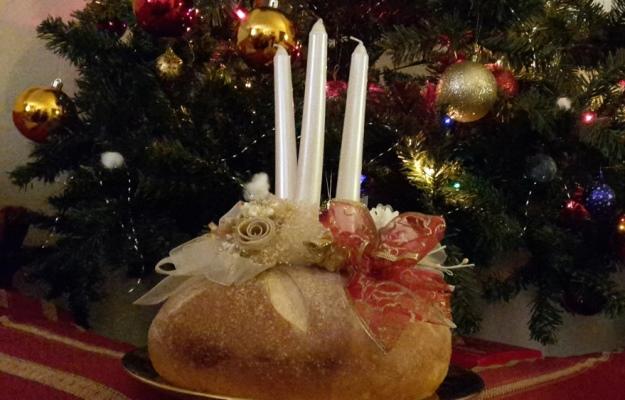 Centrotavola di pane