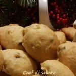 Biscotti morbidi mele e bacche di goji