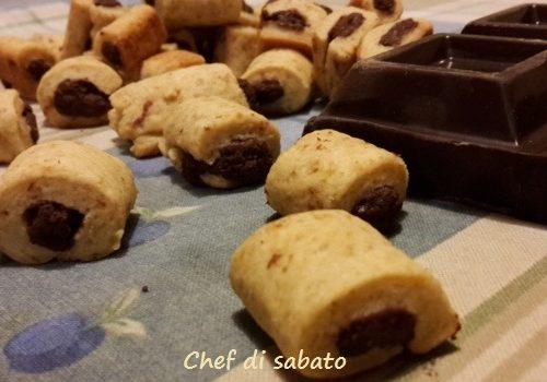 Gnocchetti dolci al cioccolato con stevia