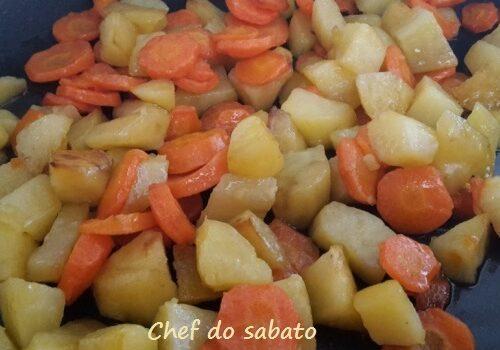 Contorno di carote e patate