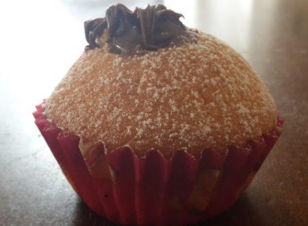 Muffin soffici alla nutella
