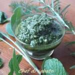 Pesto agli aromi dell'orto