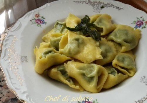 Tortelloni spinaci e ricotta