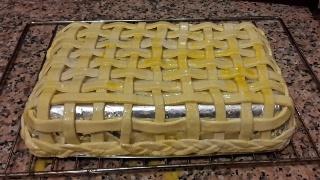 Cestino di pasta di pane