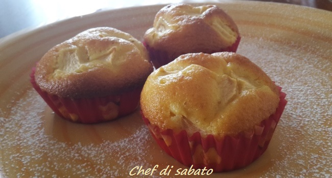 Muffin soffici alle mele