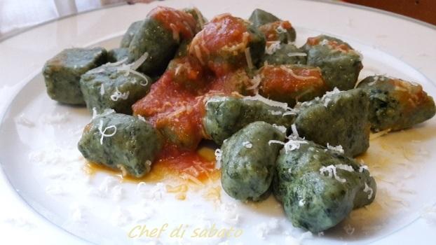 Gnocchi di spinaci e ricotta senza patate