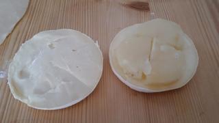 tomino in crosta di pasta brisè