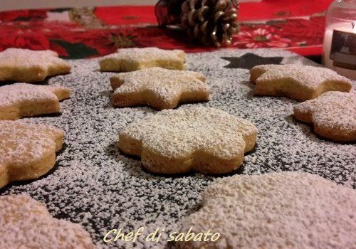 Biscotti di Natale di pasta frolla