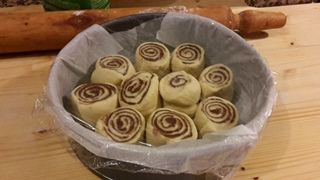 Torta di rose alla nutella con lievito naturale