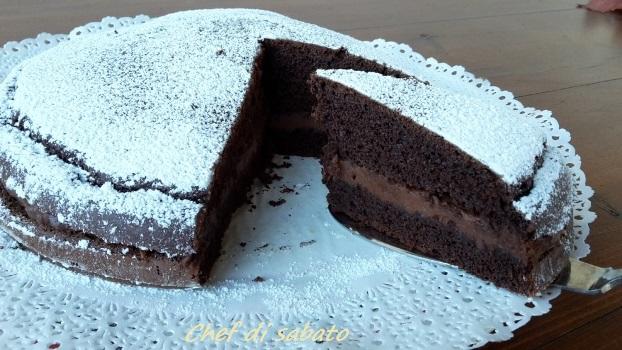 torta alla nutella senza uovo e burro