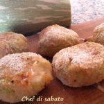 Polpette al forno con zucchine e mozzarella