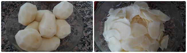 Muffin di patate agli aromi