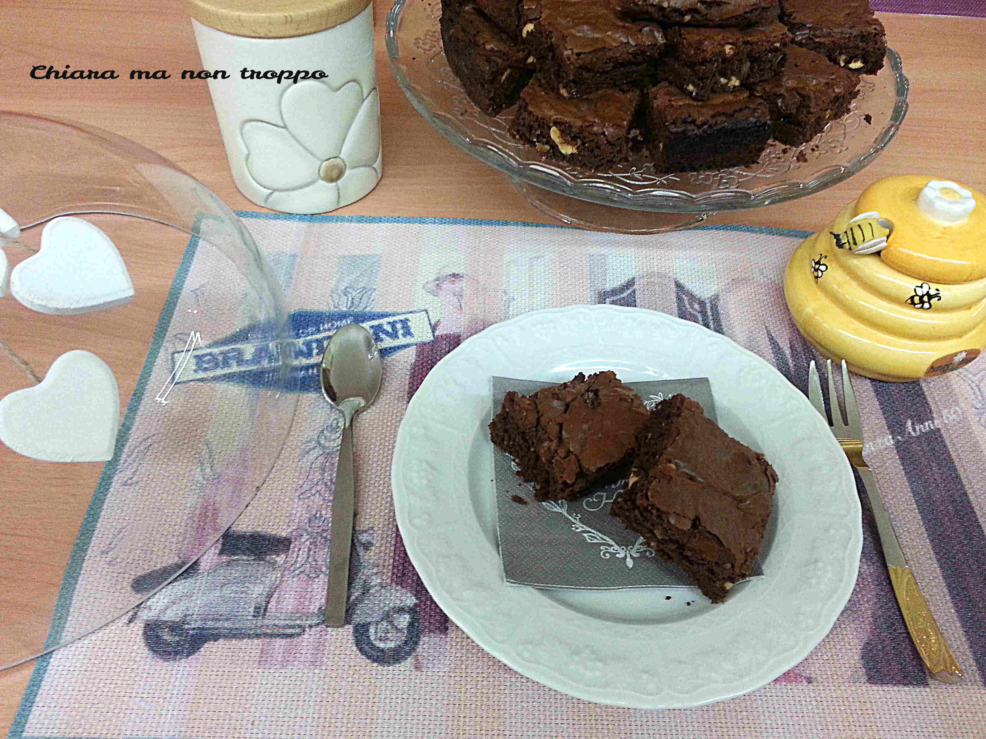 Brownies al cioccolato ricetta facile