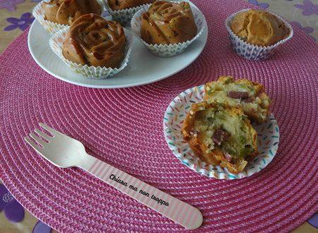 Muffin salati ai fagiolini