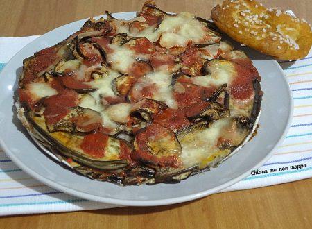 Melanzane alla parmigiana senza parmigiano