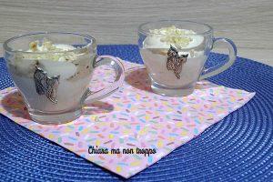 Mousse al caffè senza uova