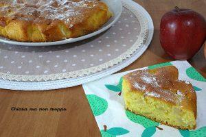 Torta di mele di Antonella Clerici