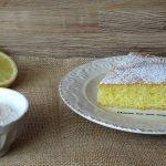 Torta sette vasetti al limone