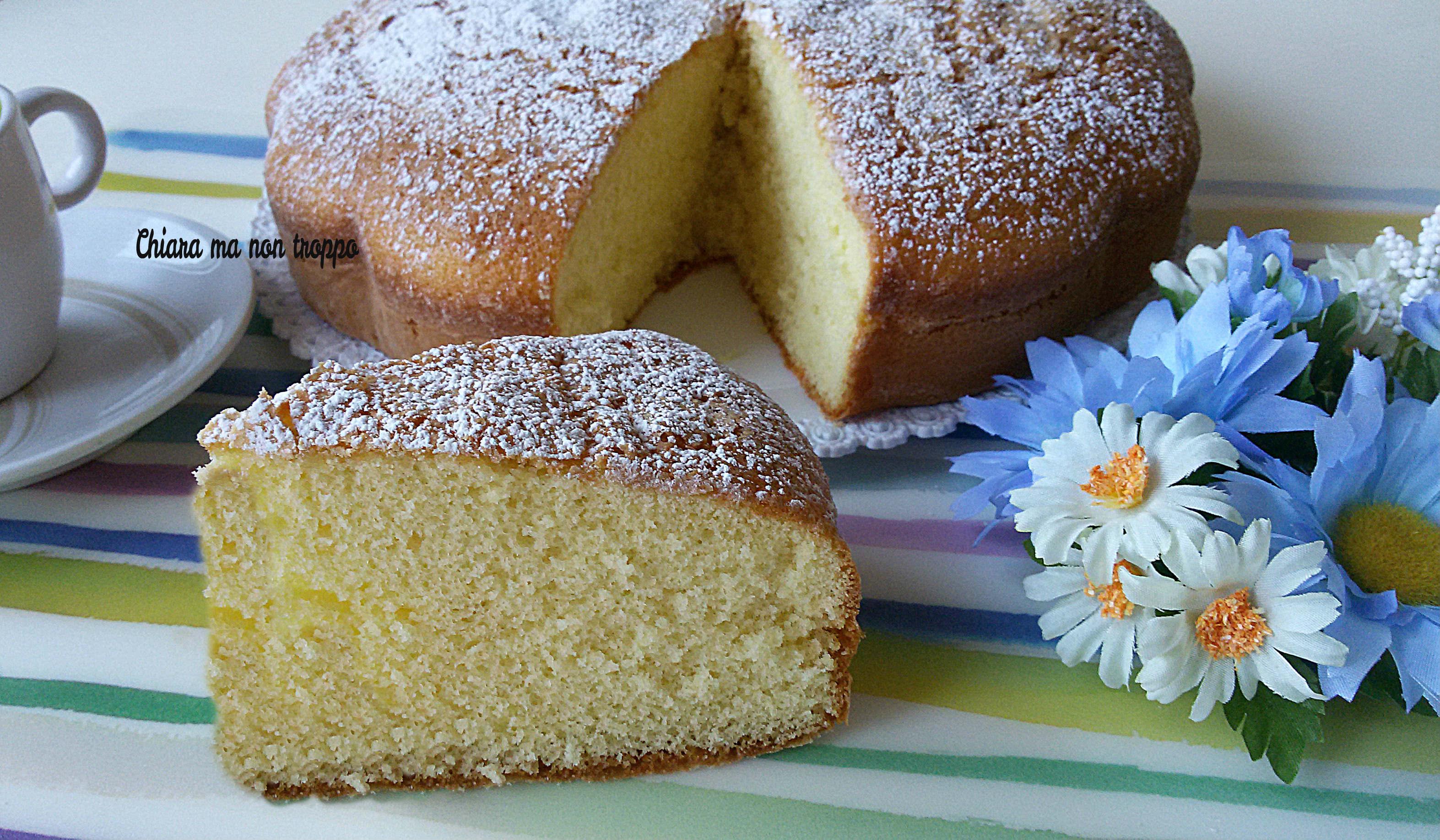 Torta semplice e veloce da colazione o merenda