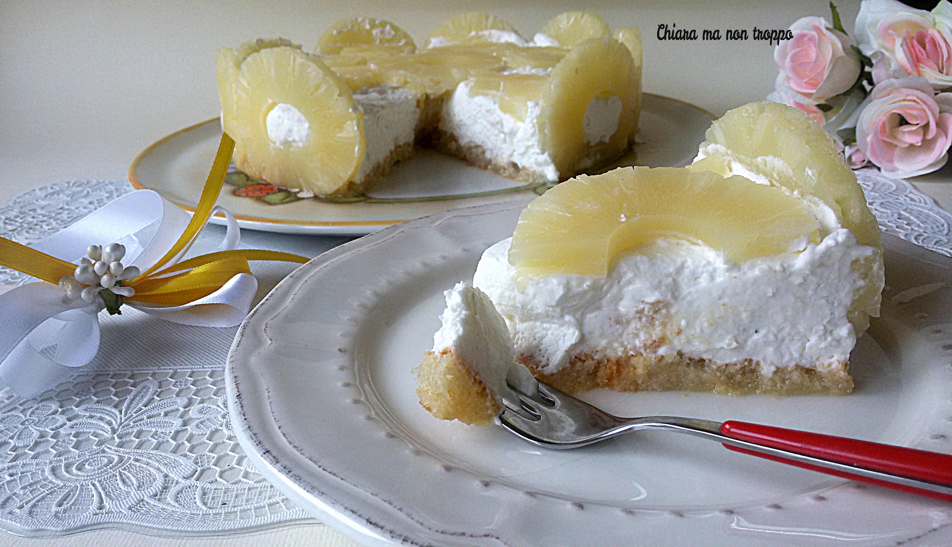 Torta all 39 ananas senza cottura semplice e veloce chiara for Torta di mele e yogurt fatto in casa da benedetta