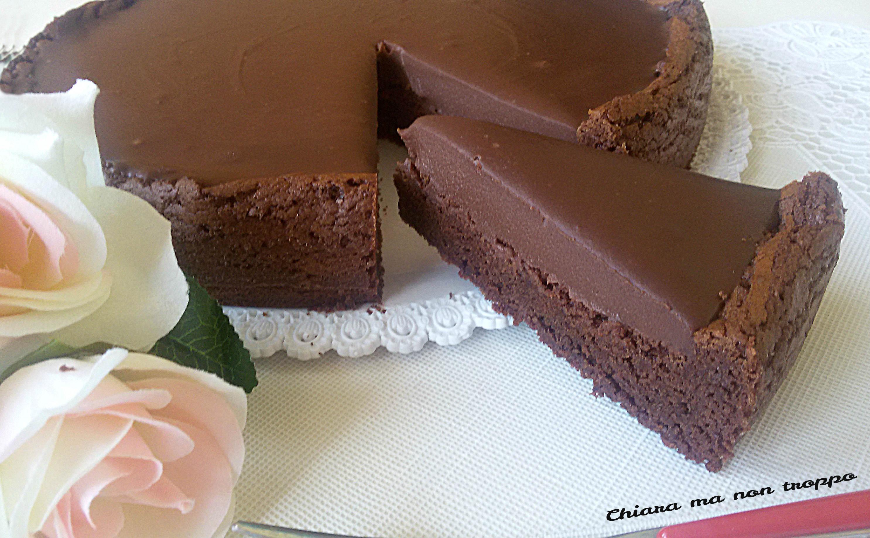 Ricette Torta Al Cioccolato Veloce.Torta Al Cioccolato Golosa Ricetta Semplice E Veloce Chiara Ma Non Troppo