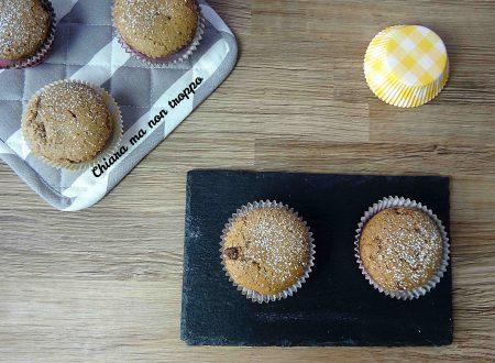 Muffin al cacao senza uova e senza burro