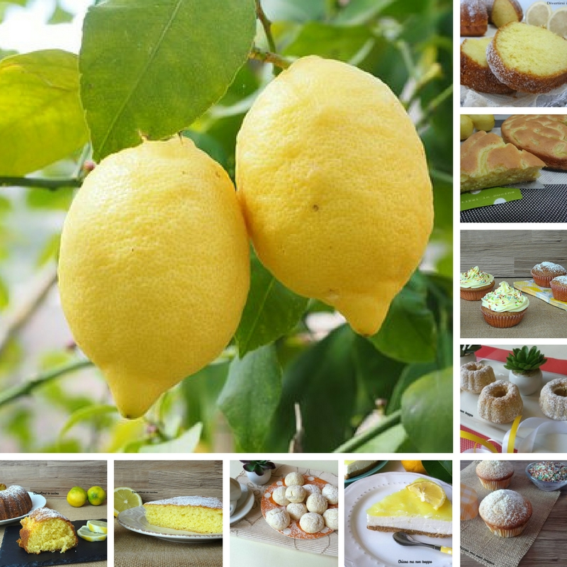 Dolci al limone ricette veloci