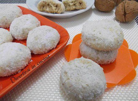 Biscottini noci e cocco