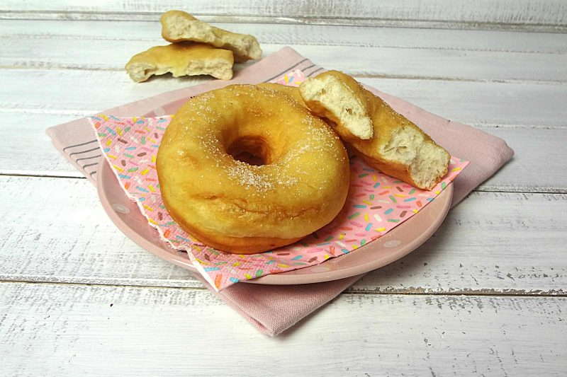 Ciambelle fritte dolci