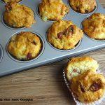 Muffin salame e formaggio