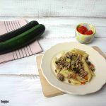 Pasta al ragù bianco di zucchine