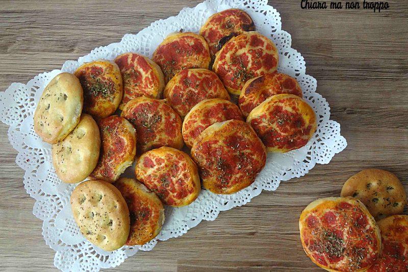 Pizzette da buffet – Buone anche fredde