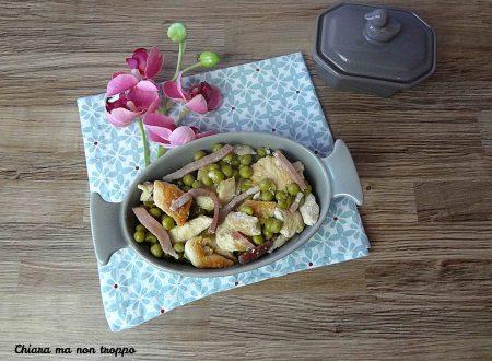 Pollo piselli e speck secondo piatto sfizioso e saporito