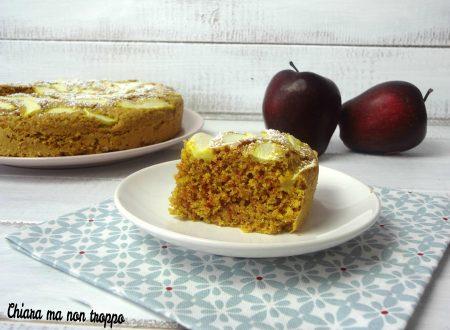 Torta di mele e curcuma perfetta per intolleranti