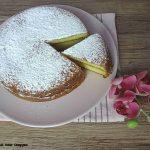 Torta versata con crema al cocco