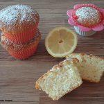 Muffin alti e soffici al limone