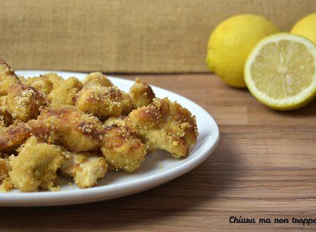 Bocconcini di pollo agli aromi