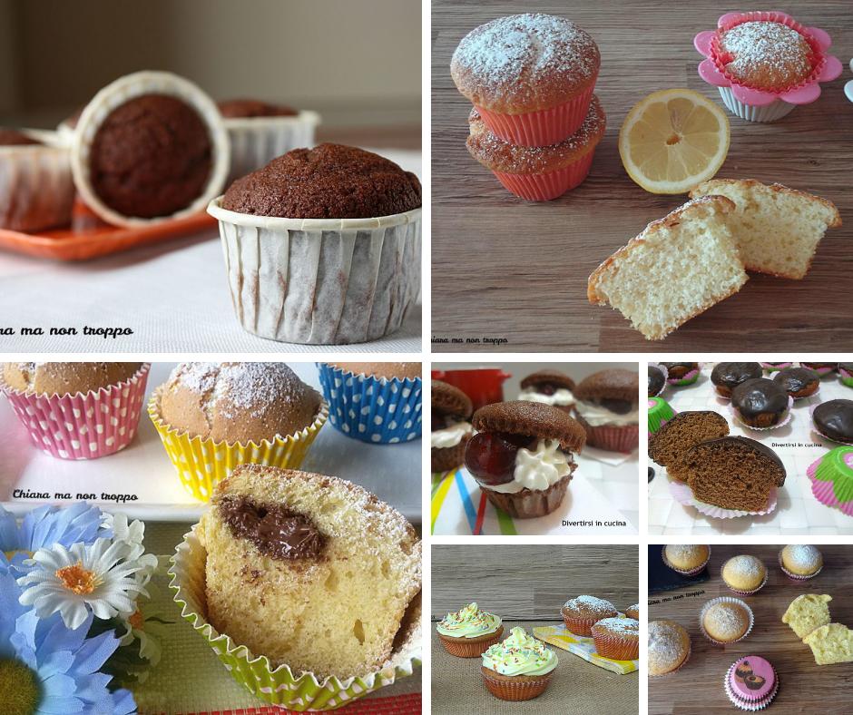 Raccolta ricette di muffin semplici e veloci chiara ma for Ricette veloci semplici
