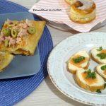 Bruschette con salmone e ricotta