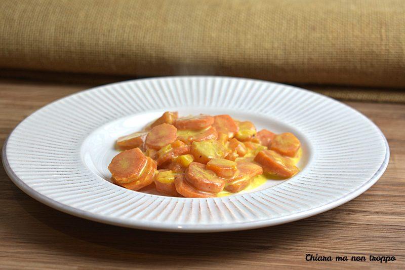 Carote al Curry con panna